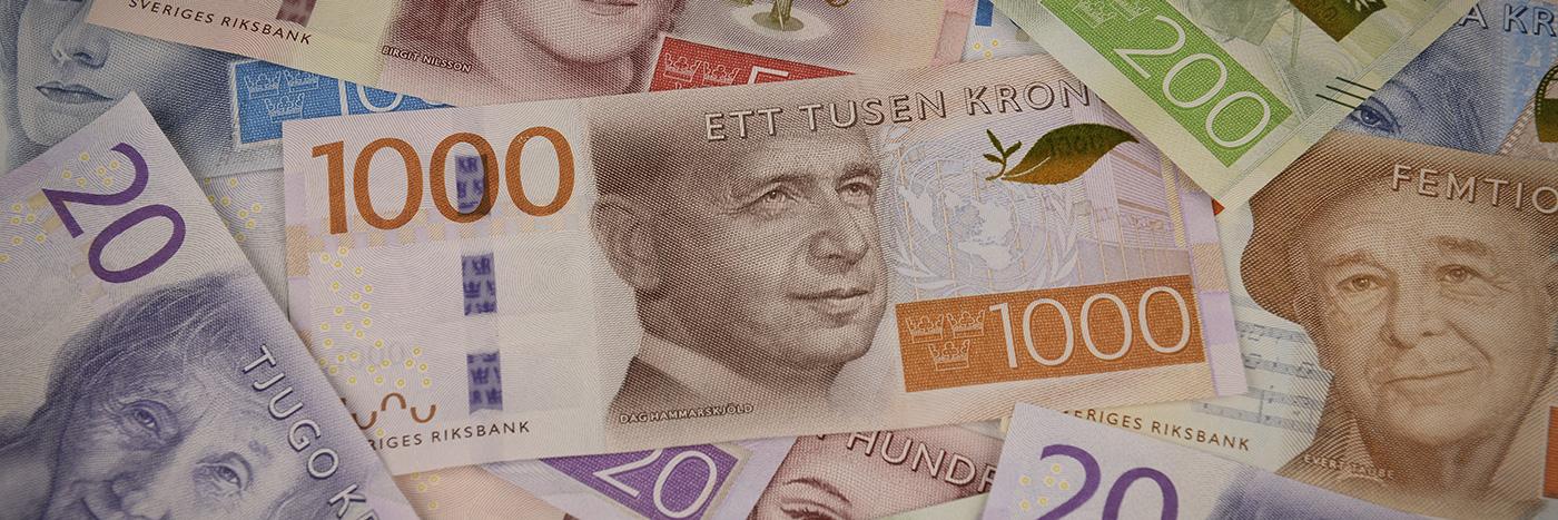 Den nya 1000 kronorssedeln pryds av Dag Hammarskjöld