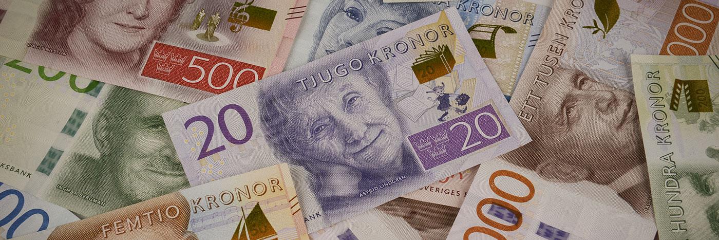 Den nya 20 kronorssedeln pryds av med Astrid Lindgren