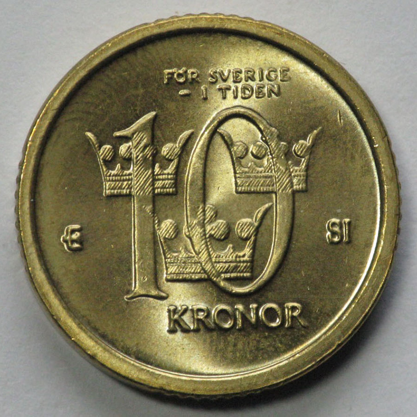 nya mynt och sedlar